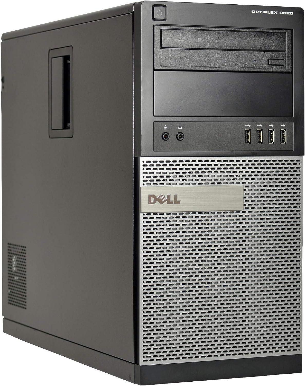 Dell Optiplex 9020 Mini-Tower Desktop, Quad Core i5 4570 3.2Ghz, 8GB DDR3 RAM, 500GB Hard Drive, Windows 10 (Renewed)