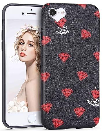 90344b708d iPhone 8 ケース,Imikoko iPhone7 ケース アイフォン7 カバー スマホケース ソフトケース おしゃれ かわいい 衝撃