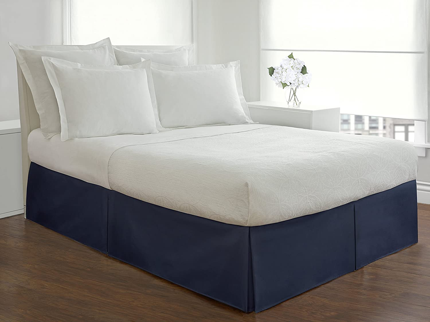 Lux Hotel Bedding Tailored Bedskirt
