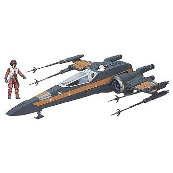 Star Wars Despertar de la fuerza 3.75-Inch vehículo X-Wing de Poe Dameron