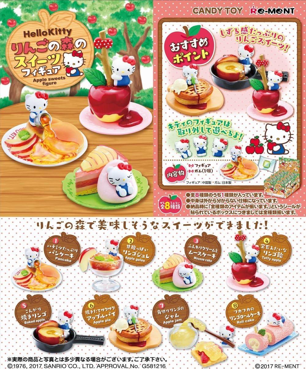 Re-Ment Miniature Sanrio Rilakkuma Sweets in dream Full set of 8 pieces