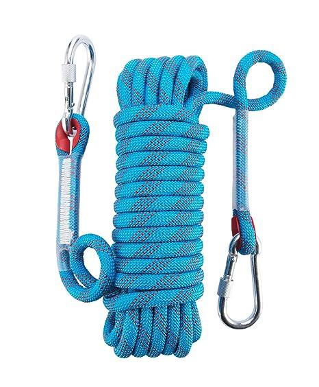 Corde d/'Alpinisme Polyester Sauvetage Corde pour Le Randonn/ée,Lalpinisme Montagne VGEBY1 Corde de S/écurit/é descalade Ext/érieure