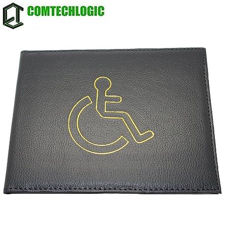 comtechlogic cm-4002 PU discapacitados Placa Soporte Cartera ...