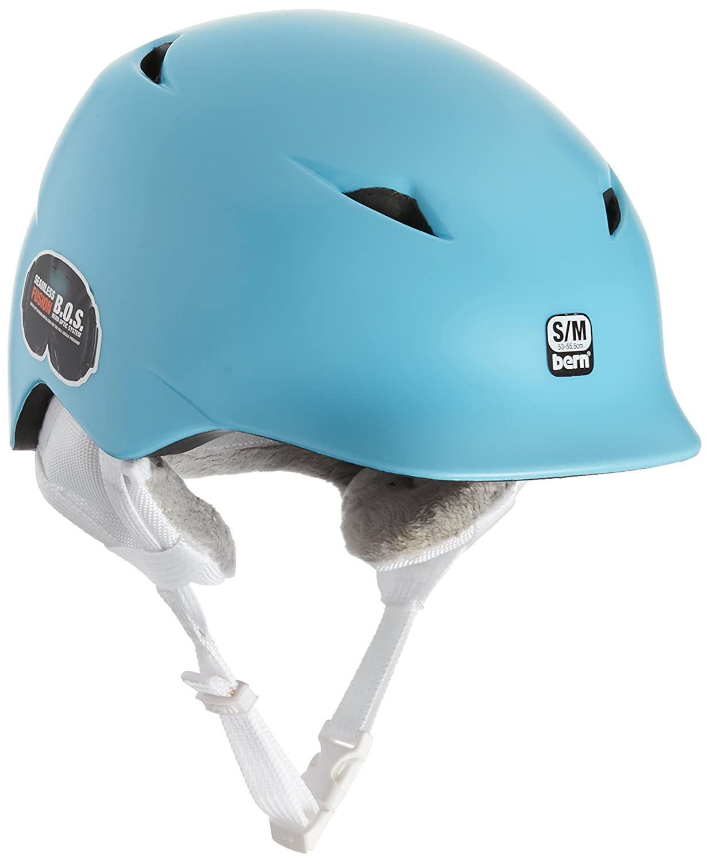 BernヘルメットCaminaホワイトライナー B01DZNLEUS X-Small/Small|Satin Blue Snowflake Satin Blue Snowflake X-Small/Small