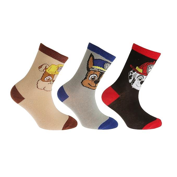 47d8852abce50 Paw Patrol Kinder Socken (3 Paar)