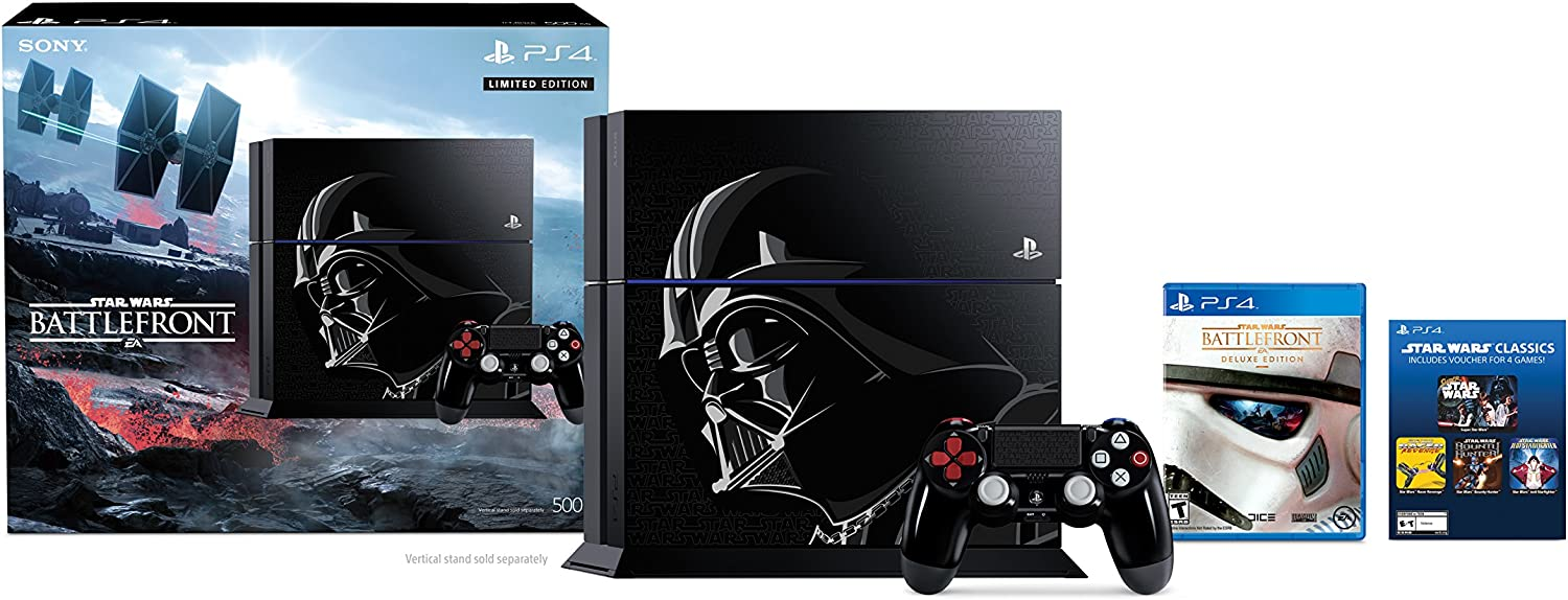 PlayStation 4 500GB Console – Star Wars Battlefront Limited Edition Bundle Discontinued