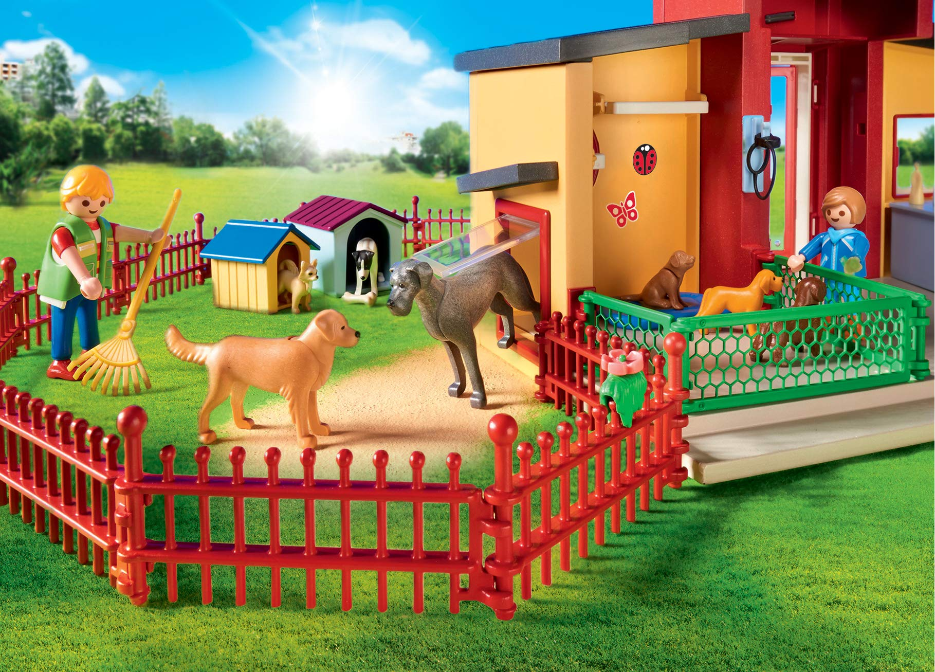 PLAYMOBIL® Tiny Paws Pet Hotel Multicolor by PLAYMOBIL® (Image #5)