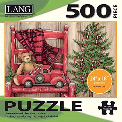 Lang - 500 Piece Jigsaw Puzzle - Christmas Teddy