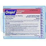 Orajel Teething Swabs, 12 Count