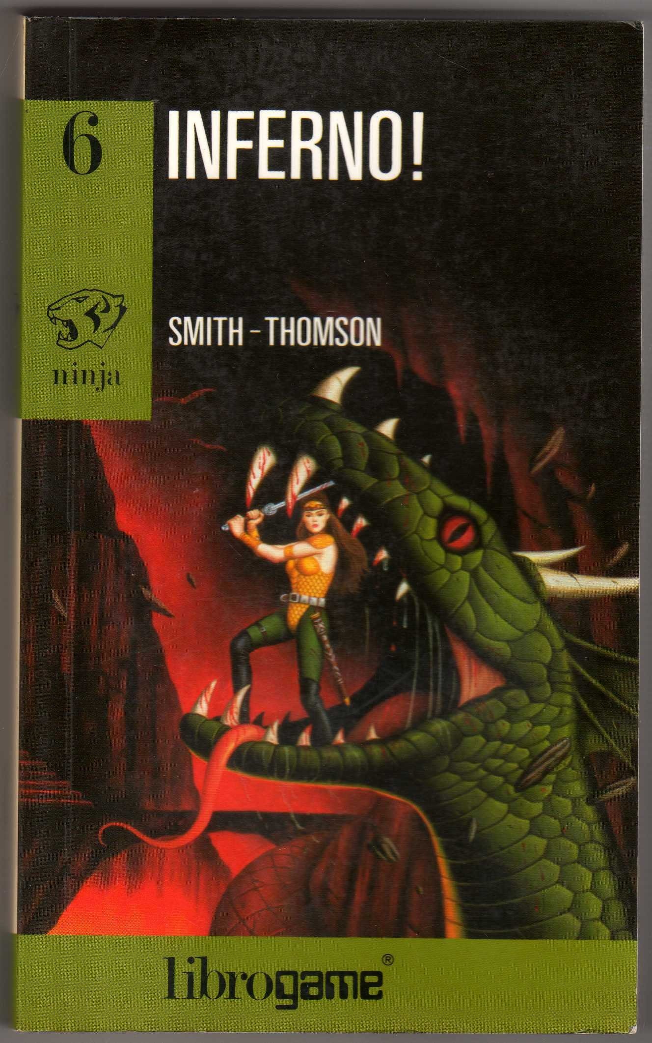 Inferno! (Libro game. Ninja): Amazon.es: Mark Smith, Jamie ...