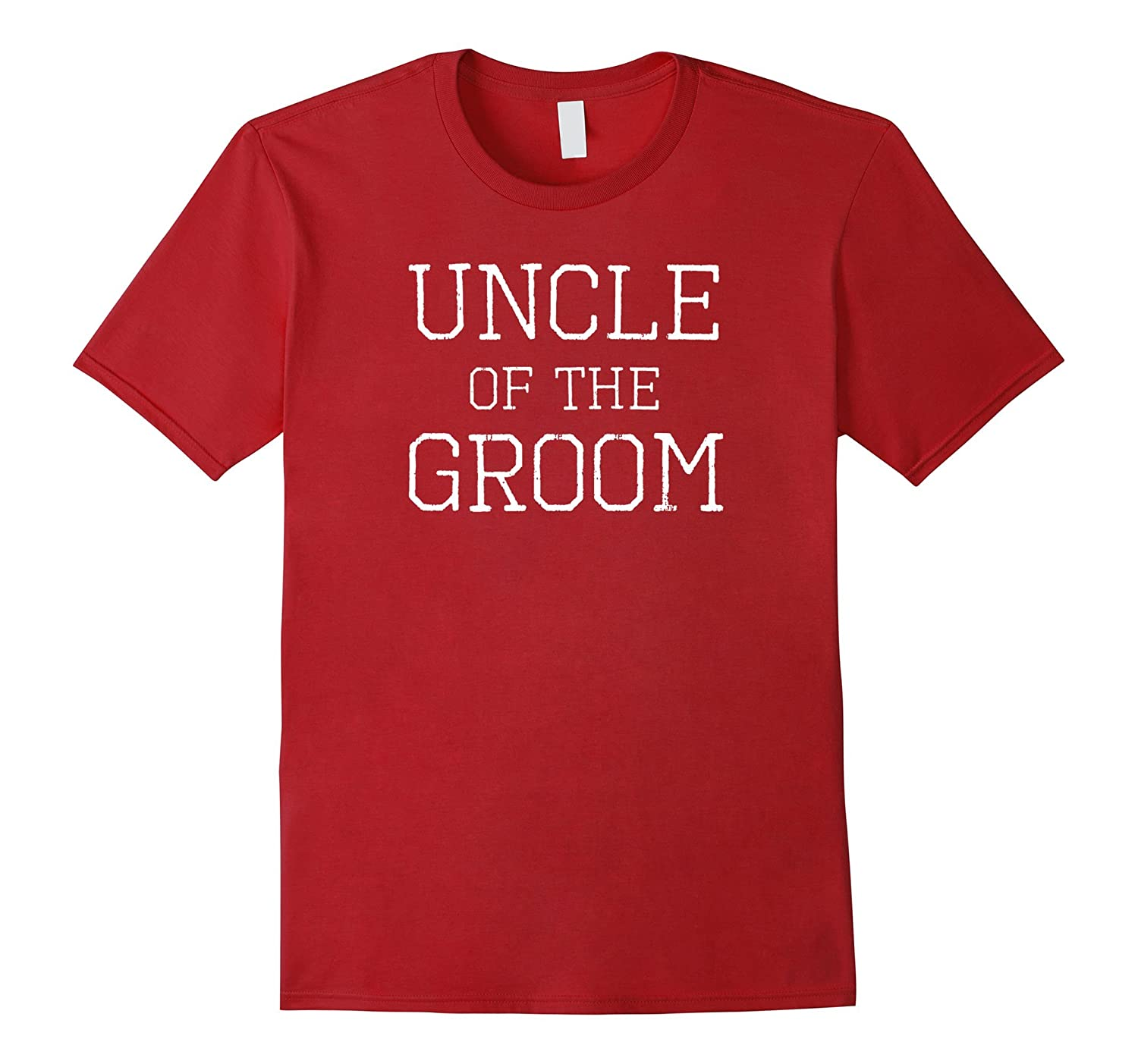 Uncle of the Groom - Coordinating Wedding Party Tee Shirts-Vaci