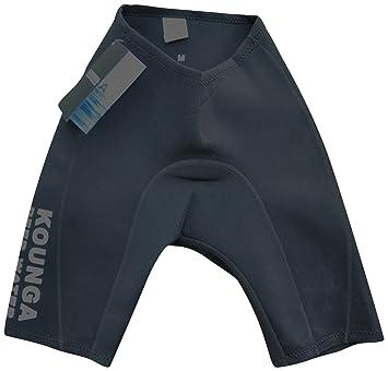 Kounga Deep Water Pantalones Cortos para Nadar Hombre Negro XL Negro ... 9e0c9d675a3