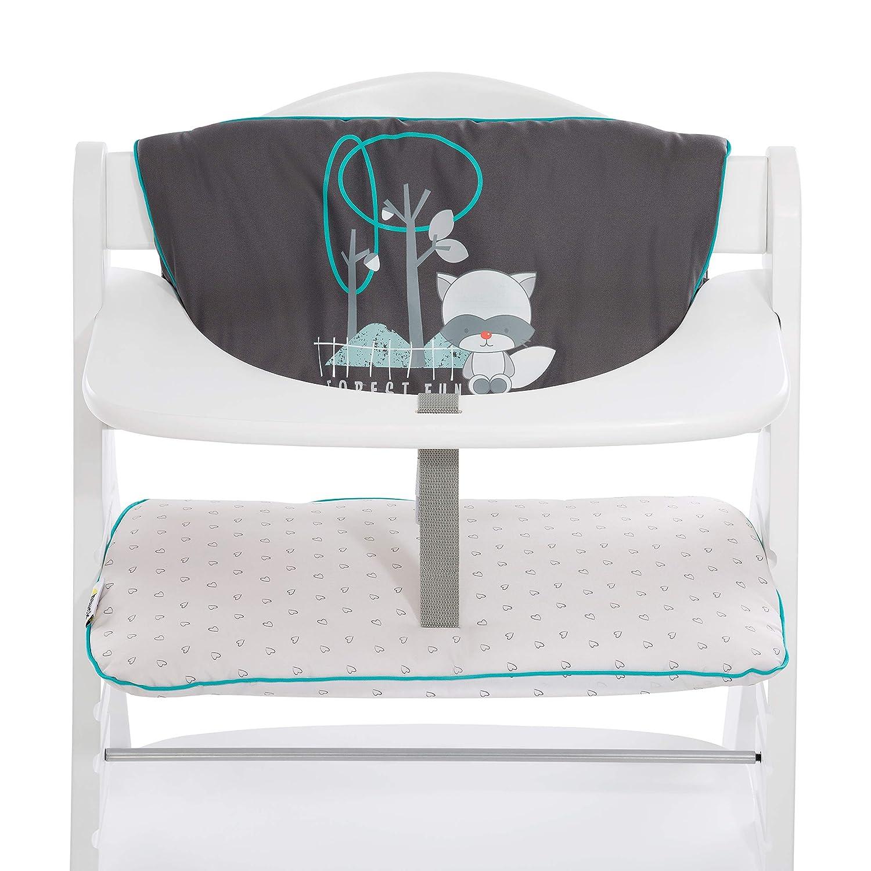 Hauck Alpha Highchair Pad Deluxe Seat Cushion, Teddy Grey Hauck Fun for Kids Ltd H-66762