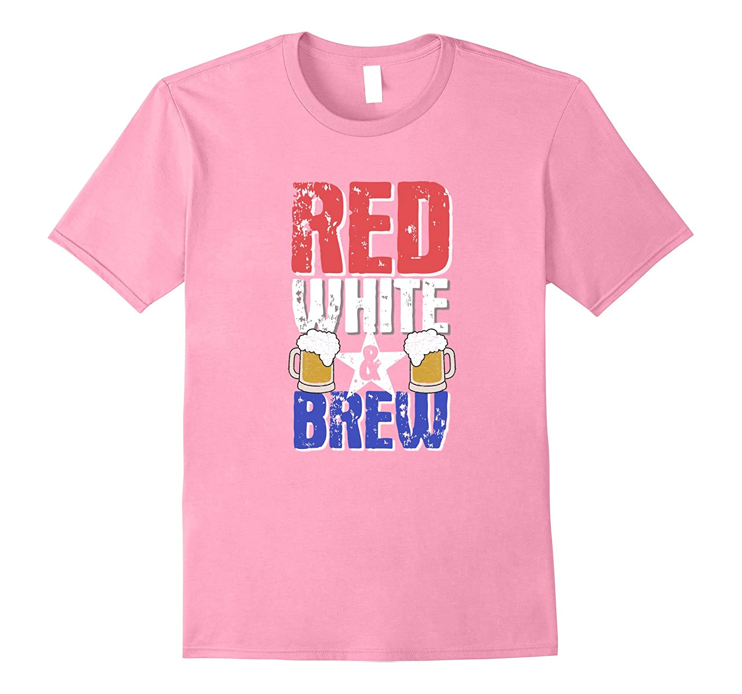 Red White And Brew T-Shirt 4th of July Gift-BN – Banazatee - photo#10