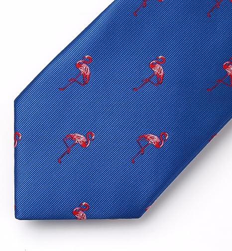 HISDERN Red-Crowned Crane Wedding Party Tie Panuelo corbata de los ...