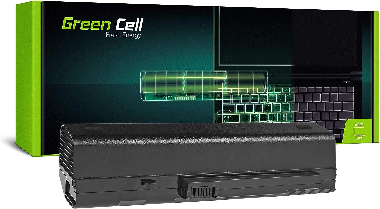 Green Cell® Extended Serie UM08A31UM08B31UM08A73Batería para portátil ACER Aspire One 571A110A150D150D250, KAV60, ZG5(12celdas 8800mAh 11.1V negro)