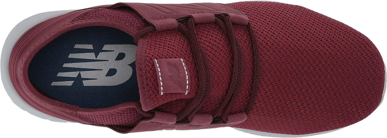 New Balance Herren Fresh Foam Cruz V2 Deconstructed Laufschuhe Nb Burgundy/Nb Scarlet