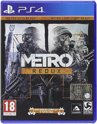 Deep Silver Metro Redux, PS4 - Juego (PS4, PlayStation 4, Acción ...