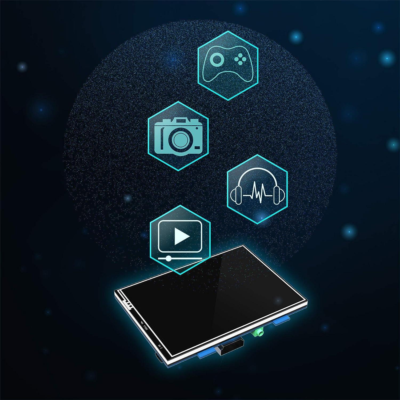 Amazon.com: Jun-Electron Raspberry Pi 3 - Pantalla táctil ...