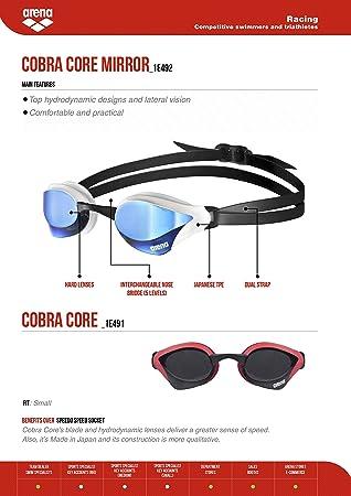 cbfb52e467fe Arena Unisex s Cobra CORE Goggle