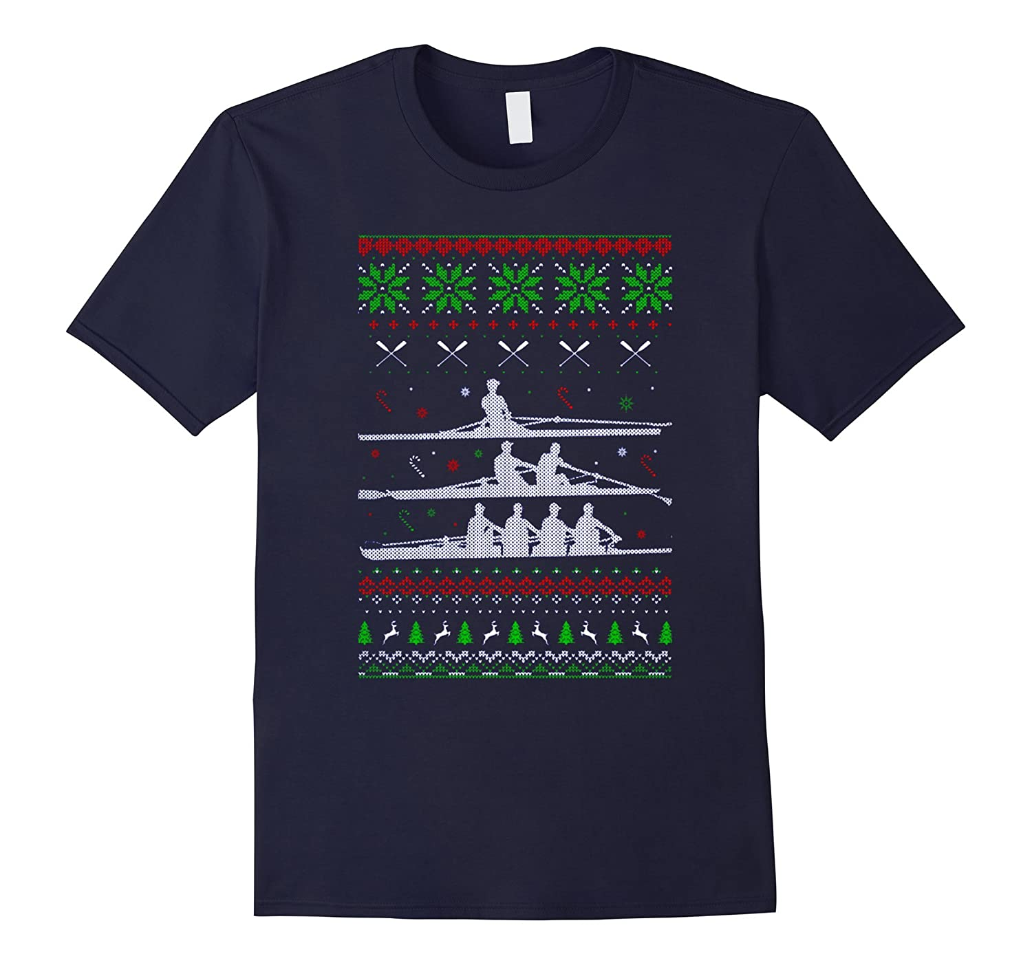 Rowing Ugly Christmas Sweater 2016-TD