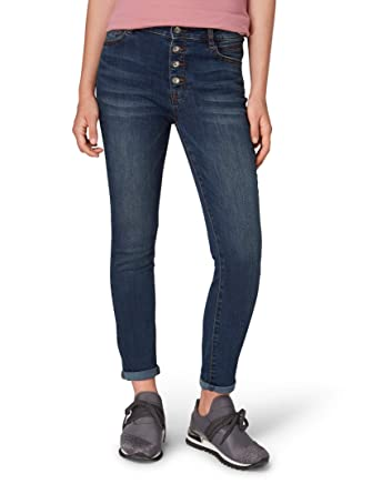 TOM TAILOR für Frauen Jeanshosen Kate Skinny Ankle Jeans