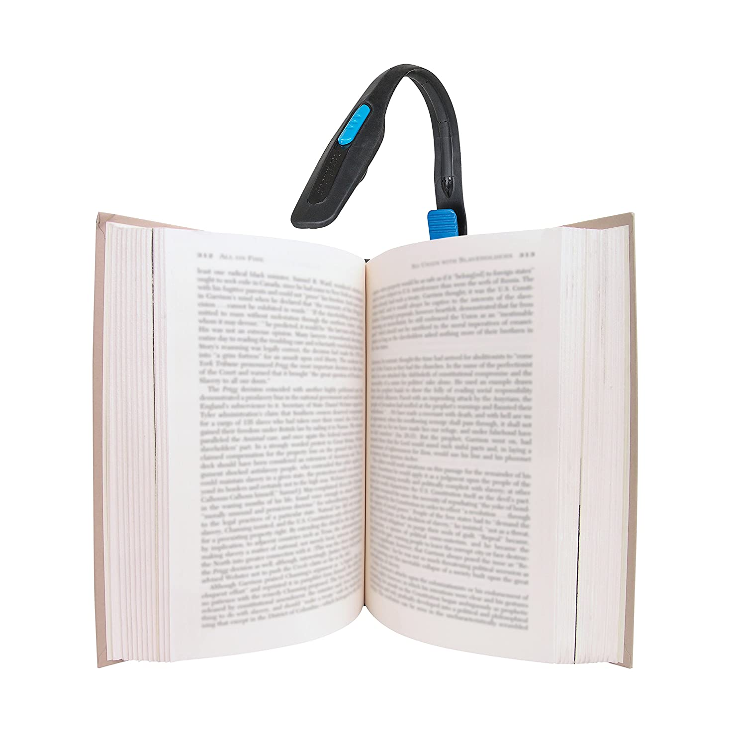 energizer lightweight led clip book light for reading