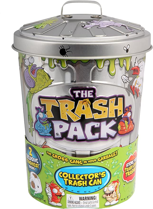 Trash Pack Garbage Can Series 2 Lot of 3 Sealed 2-packs Trashies Figures