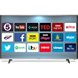 "GOODMANS G55ANSMT-4K 55"" 4K Ultra-HD Smart Curved TV with Freeview HD"