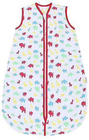 Snoozebag - Saco de Dormir Unisex 2.5 TOG bebé, 100% algodón, con Estampado Divertido de Jungla Talla: 0-6 Meses: Amazon.es: Ropa y accesorios
