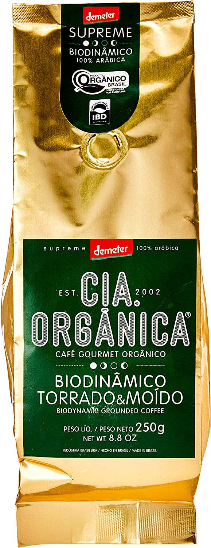 Cia Orgânica Biodinânico Gourmet Biodinâmico Torrado e Moído 250g por Cia. Orgânica