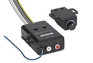 SCOSCHE LOC2SL Car Stereo 2-Channel Adjustable Amplifier Add-On Adapter in Black