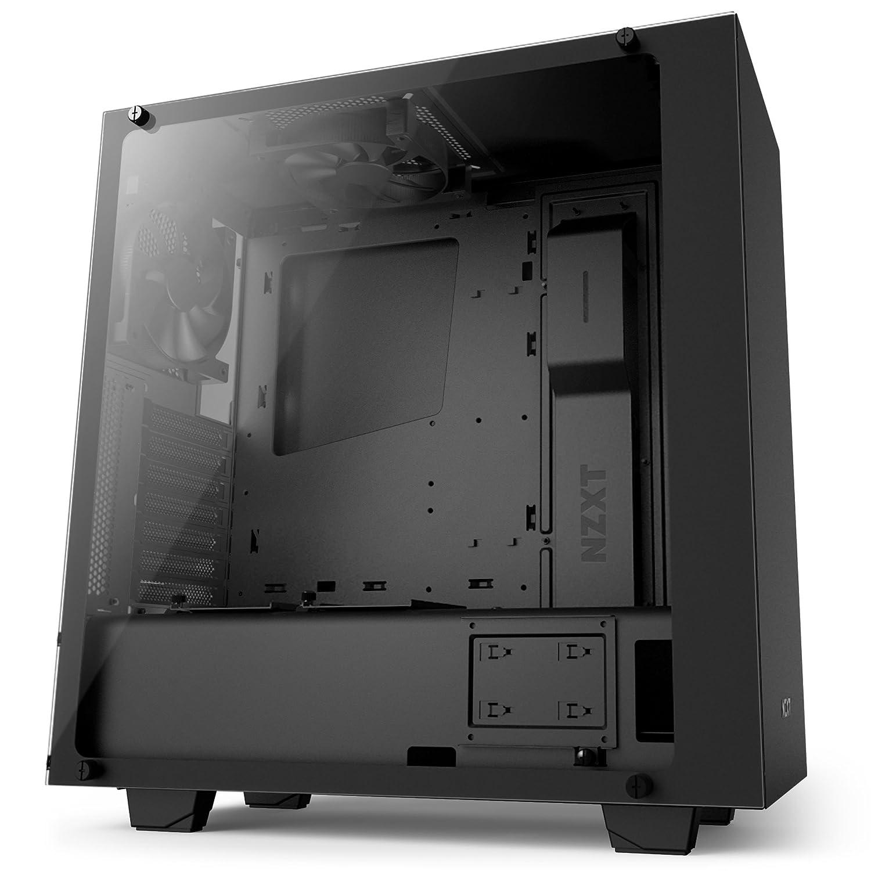 Amazon.com: NZXT S340VR Elite Computer Case , Matte Black (CA-S340W-B3):  Computers & Accessories