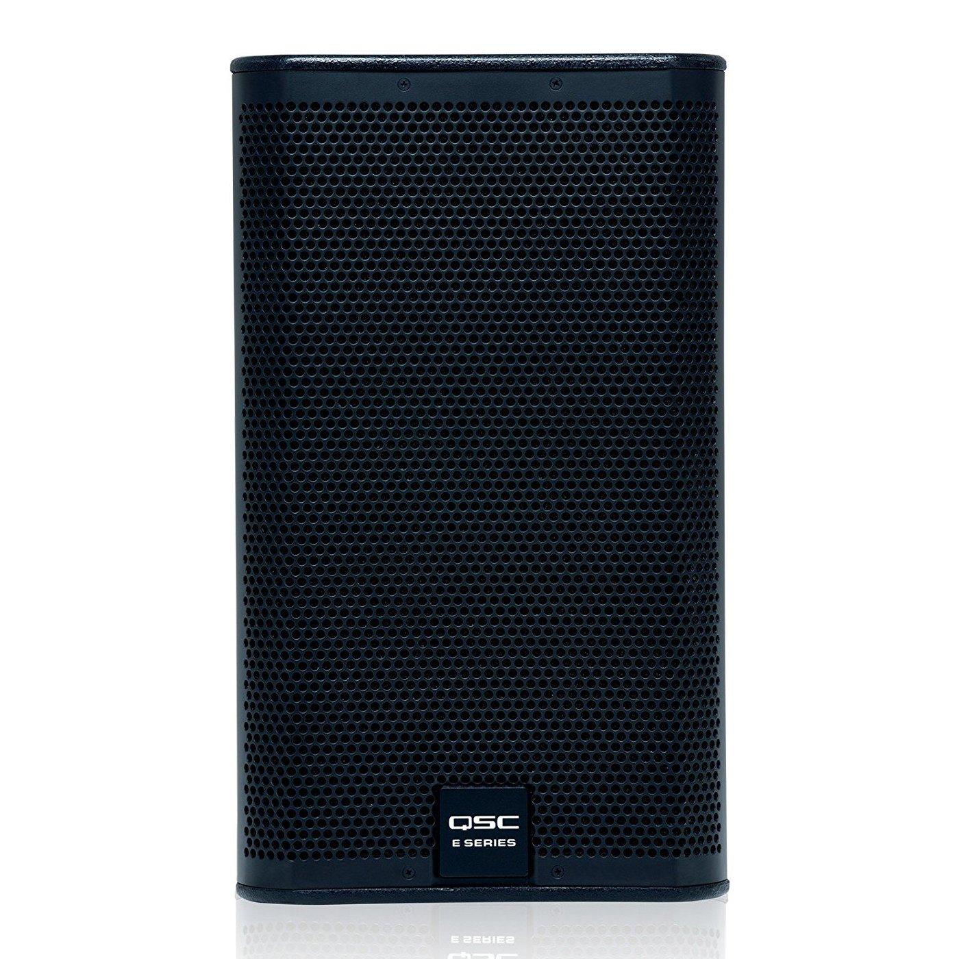 QSC E110-BK 10'' 2-Way Passive Loudspeaker, Black