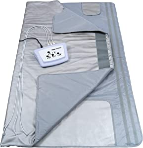 Gizmo Supply 3 Zone Digital Far-Infrared Heat Sauna Blanket v3