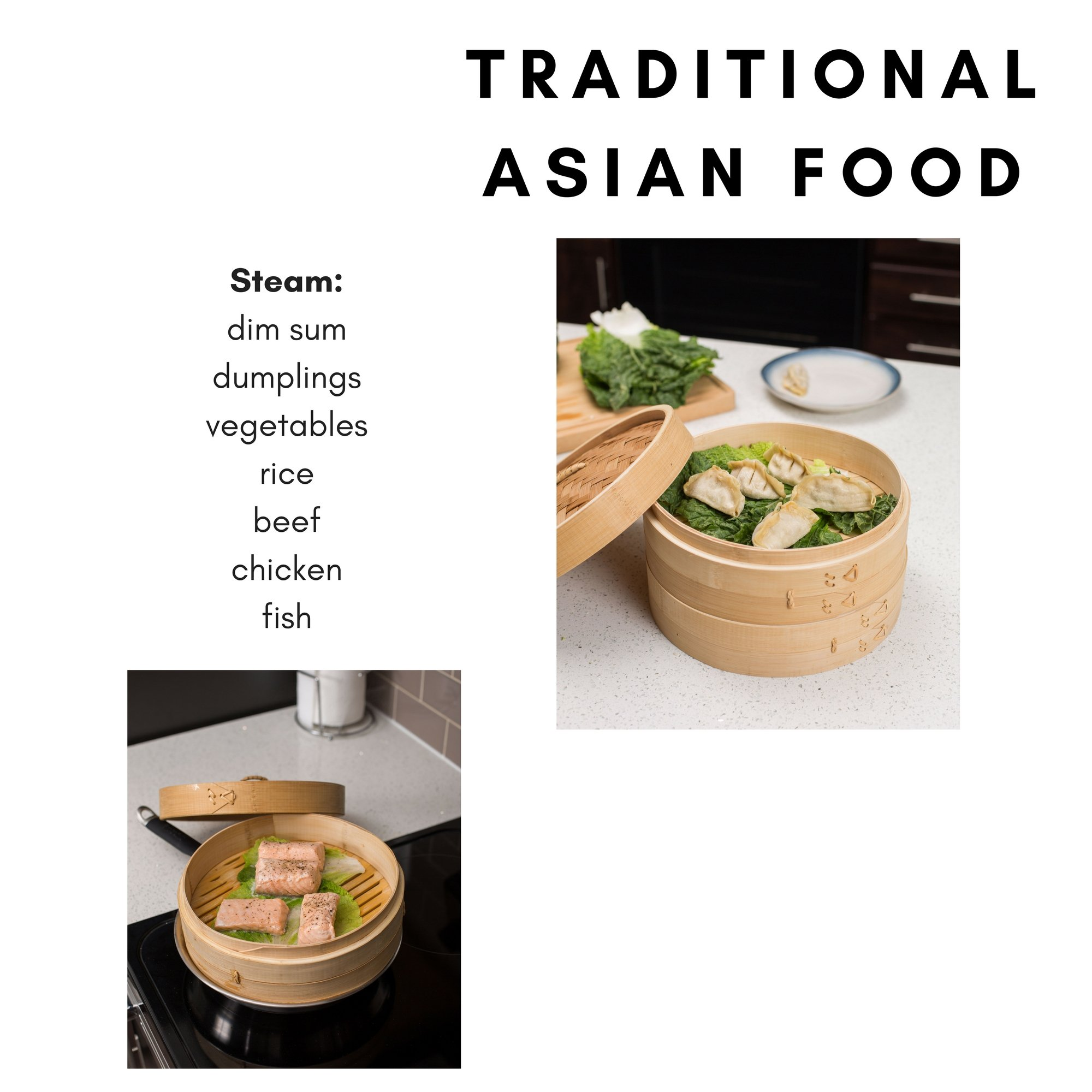 BirdRock Home 10 Inch Bamboo Steamer | Classic Traditional Design | Healthy Cooking | Great for dumplings, vegetables, chicken, fish | Steam Basket | Natural by BirdRock Home (Image #5)