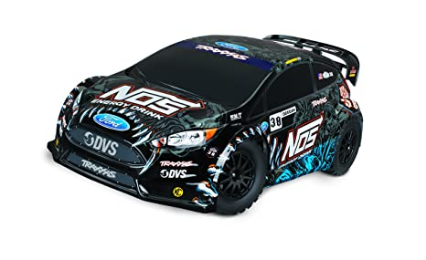 FORD FIESTA ST RALLY - 4X4 - 1/10 BRUSHED - TRAXXAS - TRX74054-