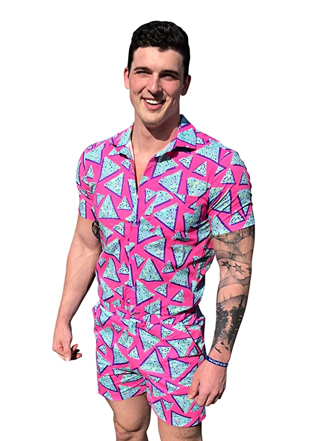 80s Costumes, Outfit Ideas- Girls and Guys Zesties Male Romper - Original Rompers for Men $69.99 AT vintagedancer.com