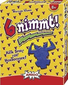 Amigo Spiele, 6 nimmt! Juego de cartas: Kramer, Wolfgang: Amazon.es: Juguetes y juegos