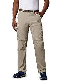 Columbia Men's Silver Ridge Convertible Pant, Breathable, UPF