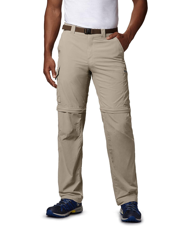 Columbia 2-in-1 Wanderhose für Herren, Silber Ridge ConGrünible Pants