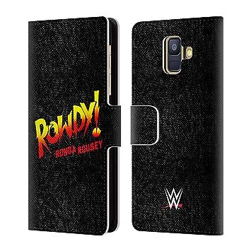 Officiel WWE LED Image Ronda Rousey Coque D'Arrière Rigide Pour iPhone 6 Plus