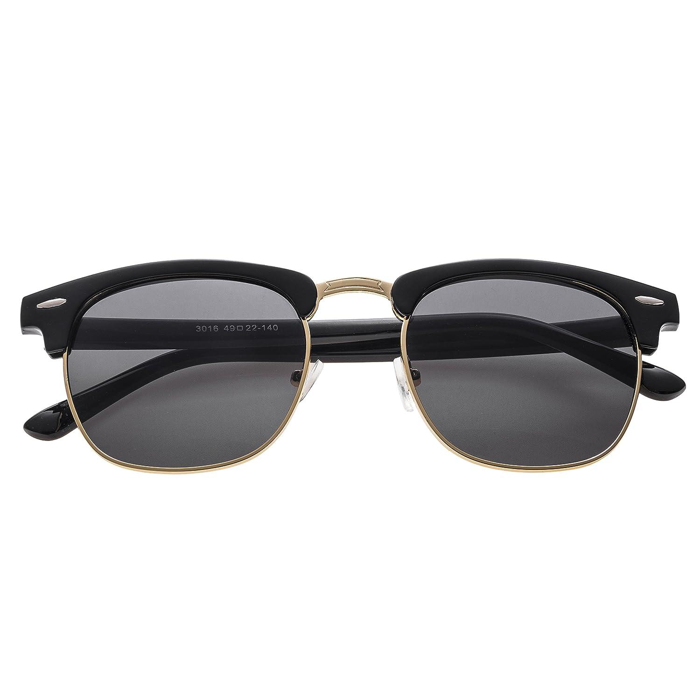 Gafas de Sol Polarizadas Forepin® para Mujer y Hombre (Negro ...