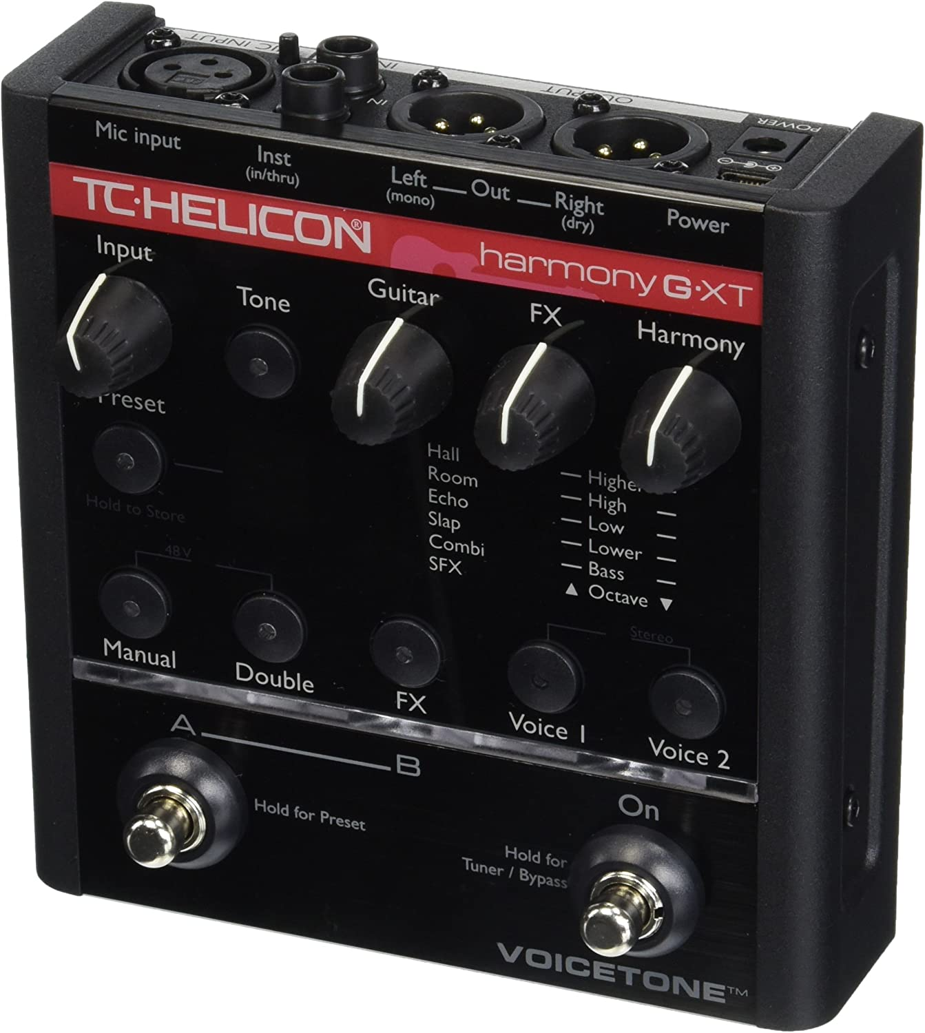 TC-Helicon EQ Effects Pedal (996000905)