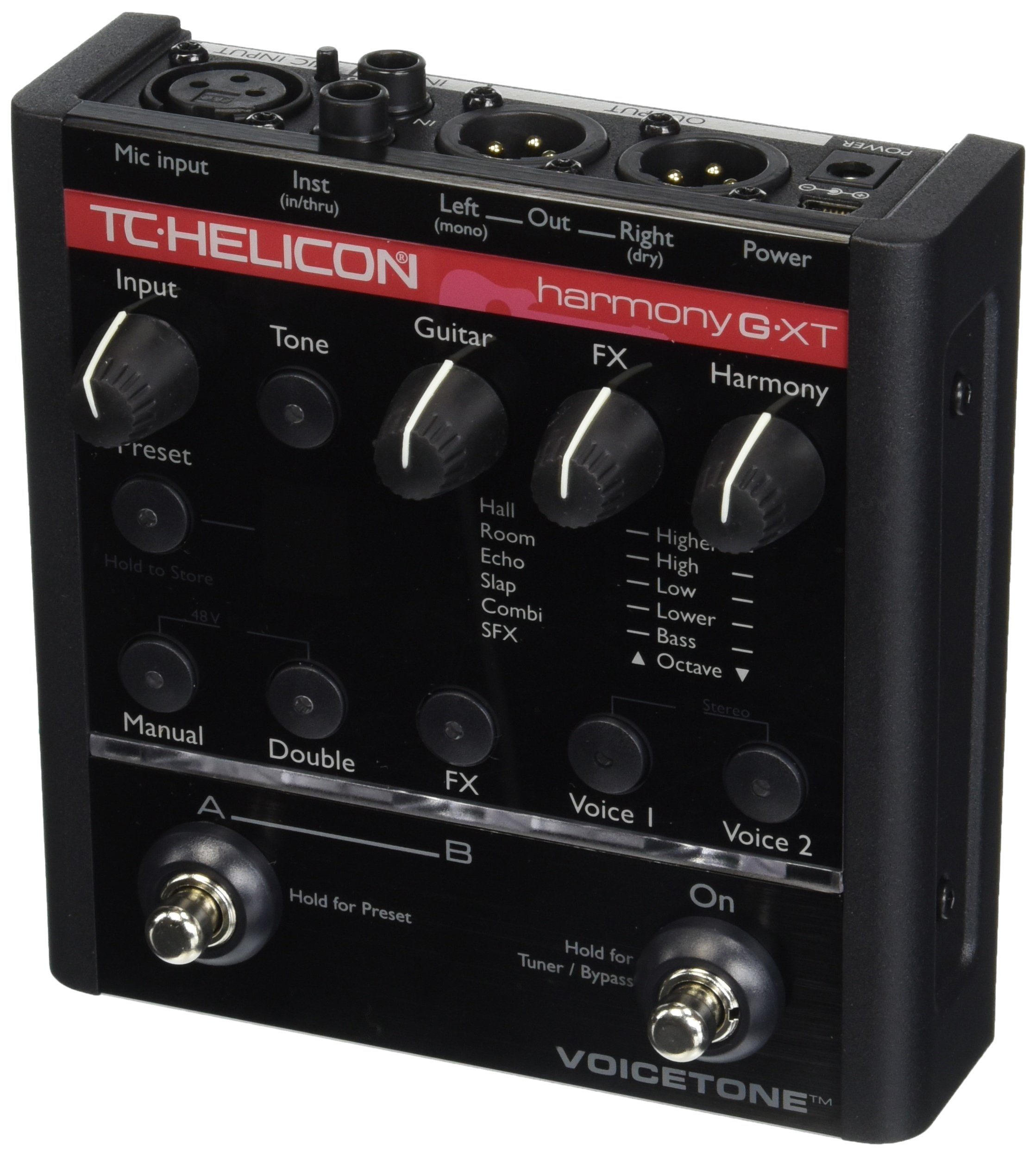 tc helicon voicetone harmony g xt vocal effects processor ebay