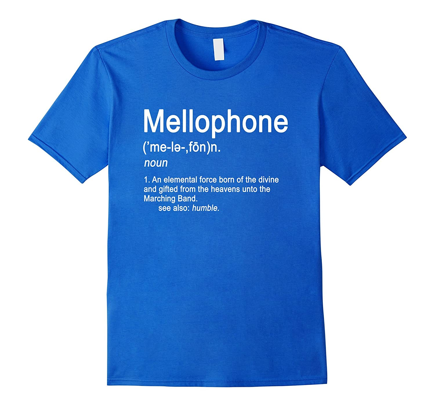 30572ad1e Mellophone Definition Marching Band Music Musician T-shirt-ANZ ...