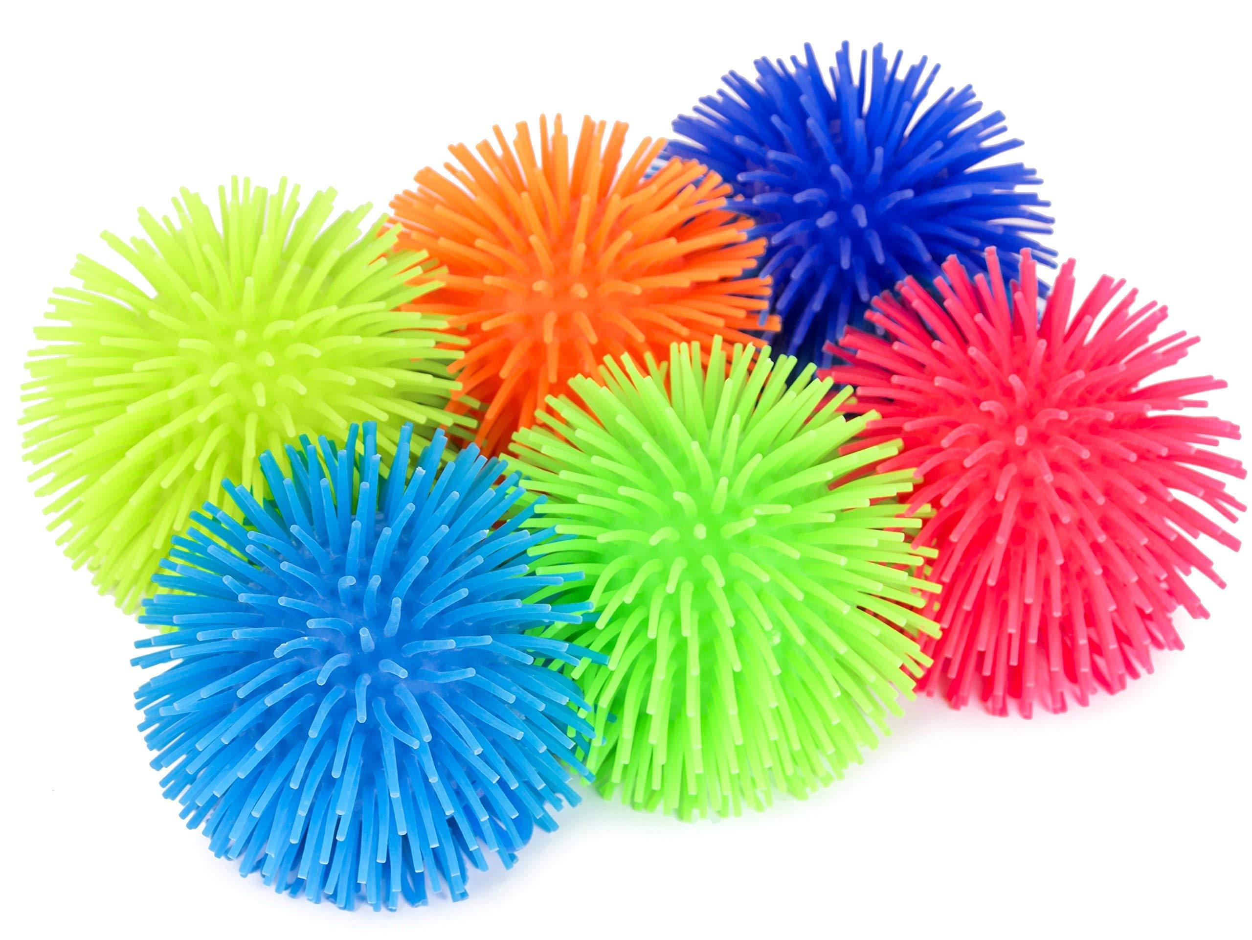 KELZ KIDZ Premium Quality Large & Thick Puffer Balls for Fun Kids Party (Set of 12) by KELZ KIDZ (Image #2)