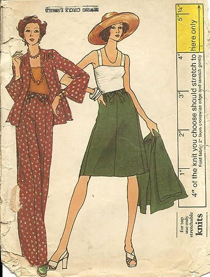 Amazon Vogue Vintage Sewing Pattern 8855 Casual Wardrobe Size