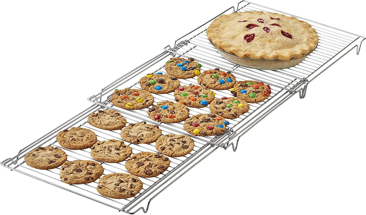 Betty Crocker Expandable Cooling Rack: Expandable Baking Rack: Kitchen & Dining