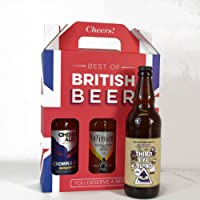 Best of British Beer Beer Gift Set bottles of real ale, 50 cl, Case of 3